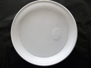 Одноразові тарілки та миски з полістиролу