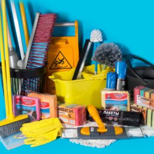 Засоби для прибирання Розхідні матеріали